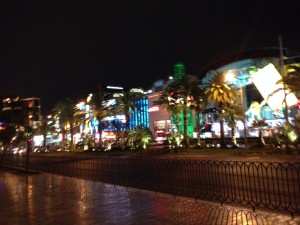 vegas night